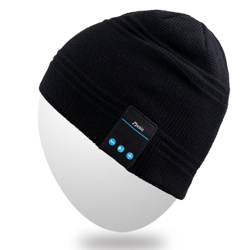 Texting Gloves for Smartphones, SpeakerHats Wireless Hat Cap