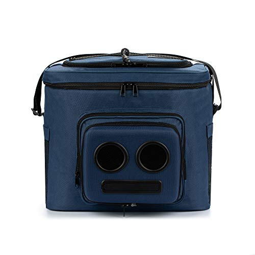 The #1 Cooler with Speakers on Amazon. 20-Watt Bluetooth Speakers & Subwoofer - (Blue, 2021 Edition)
