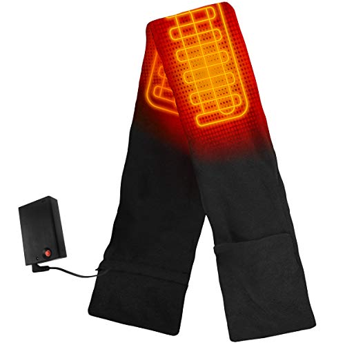 The Warming Store ActionHeat Battery Heated Scarf, Black