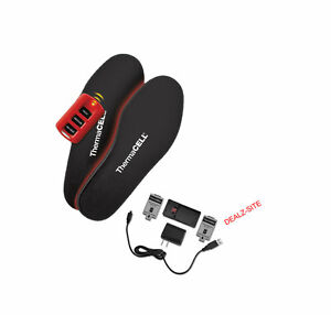 Thermacell ProFlex HW20-XL Rechargeable Heated Insoles ...