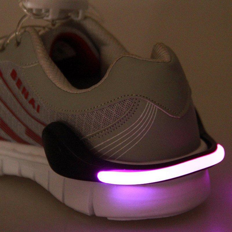 Useful Outdoor Tool LED Luminous Shoe Clip Light Night ...