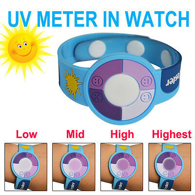 UV Bracelet Ultraviolet Sun Smart Radiation Meter Tester Detector Watch Skin