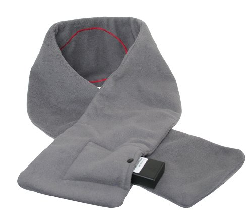 Verseo Heated Scarf - Battery Operated, Gray