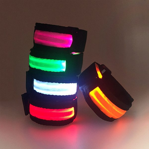 Warnings Band LED lights Wrist Band RGB LED Sports Armband