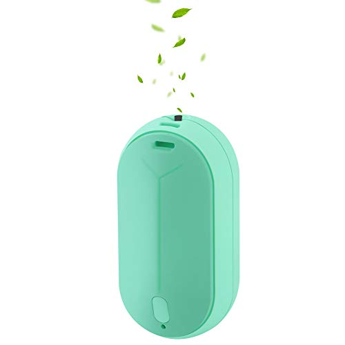 WOOLALA Wearable Air Purifier Necklace - GREEN