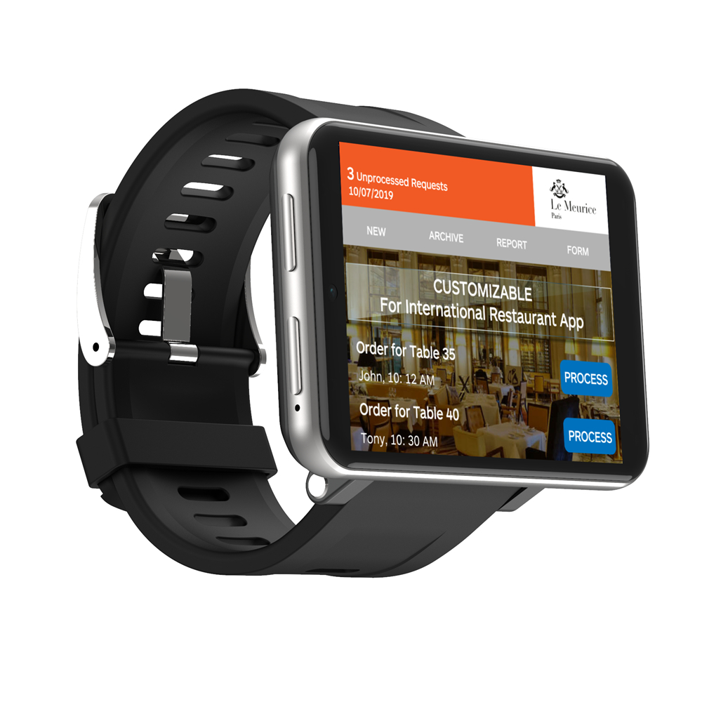 Wholesale LEMFO LEM T 4G 2.86 Inch Screen Smart Watch ...