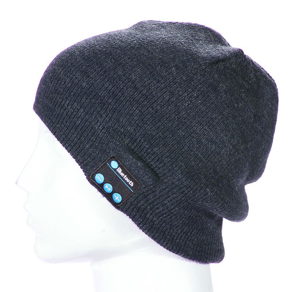 Wireless Bluetooth Smart Cap Headphone Headset Speaker ...