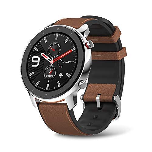 Amazfit 237278 Wd W1902us2n Gtr Smartwatch 47mm Stainless Steel W Gps+glonass Retail