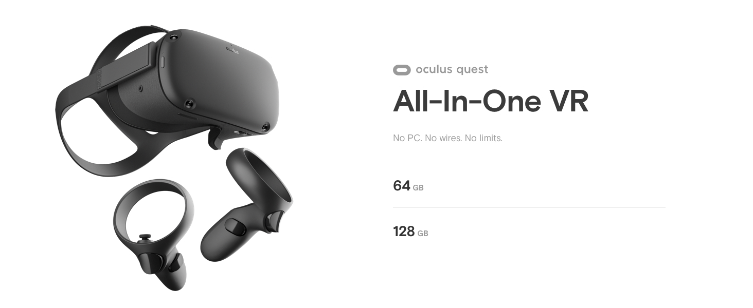 Amazon.com: Oculus Quest All-in-one VR Gaming Headset ...