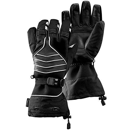 BEARTEK Snow Glove Kit With Camera Module Black XL
