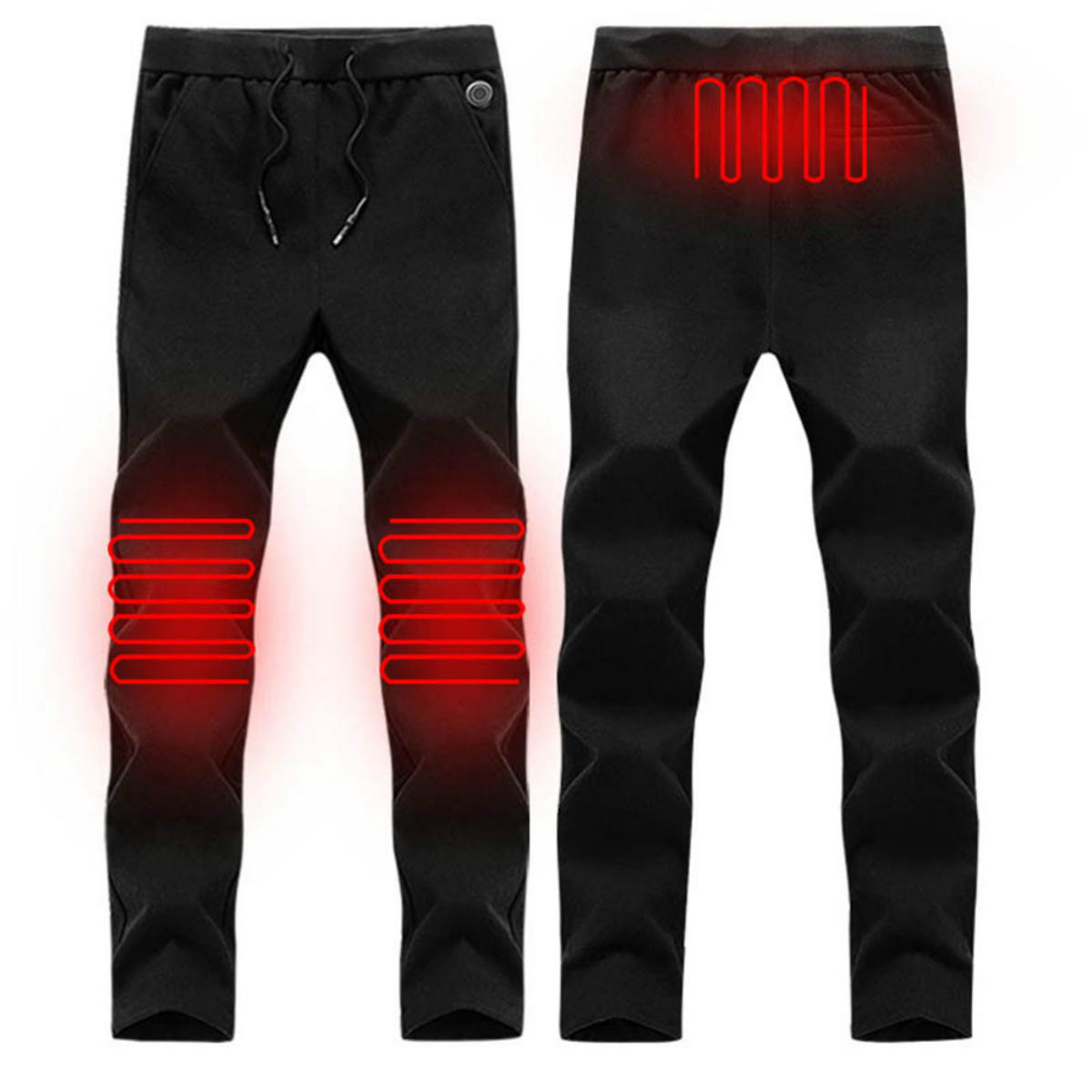 electric heated warm pants men women heating base layer ...