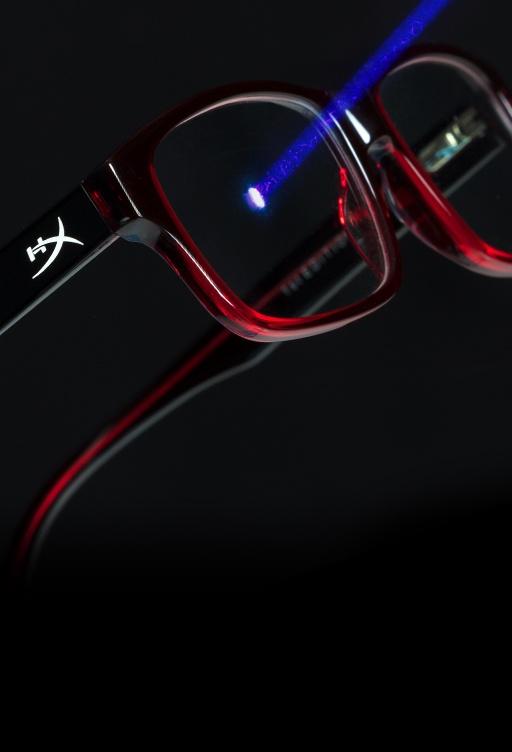 Gaming Glasses & Eyewear – Reduce Digital Eye Strain | HyperX