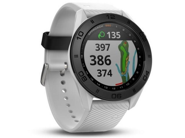 Garmin Approach S60-White Band GPS-Enabled Golf Watch