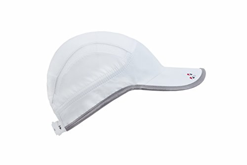 LifeBEAM Hat, One Size, White/Silver