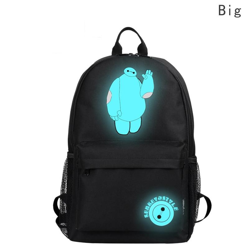 New Arrive Backpack Anime Luminous Backpack Backpacks For Teenage Flash Backpack Bicycle Sac a ...