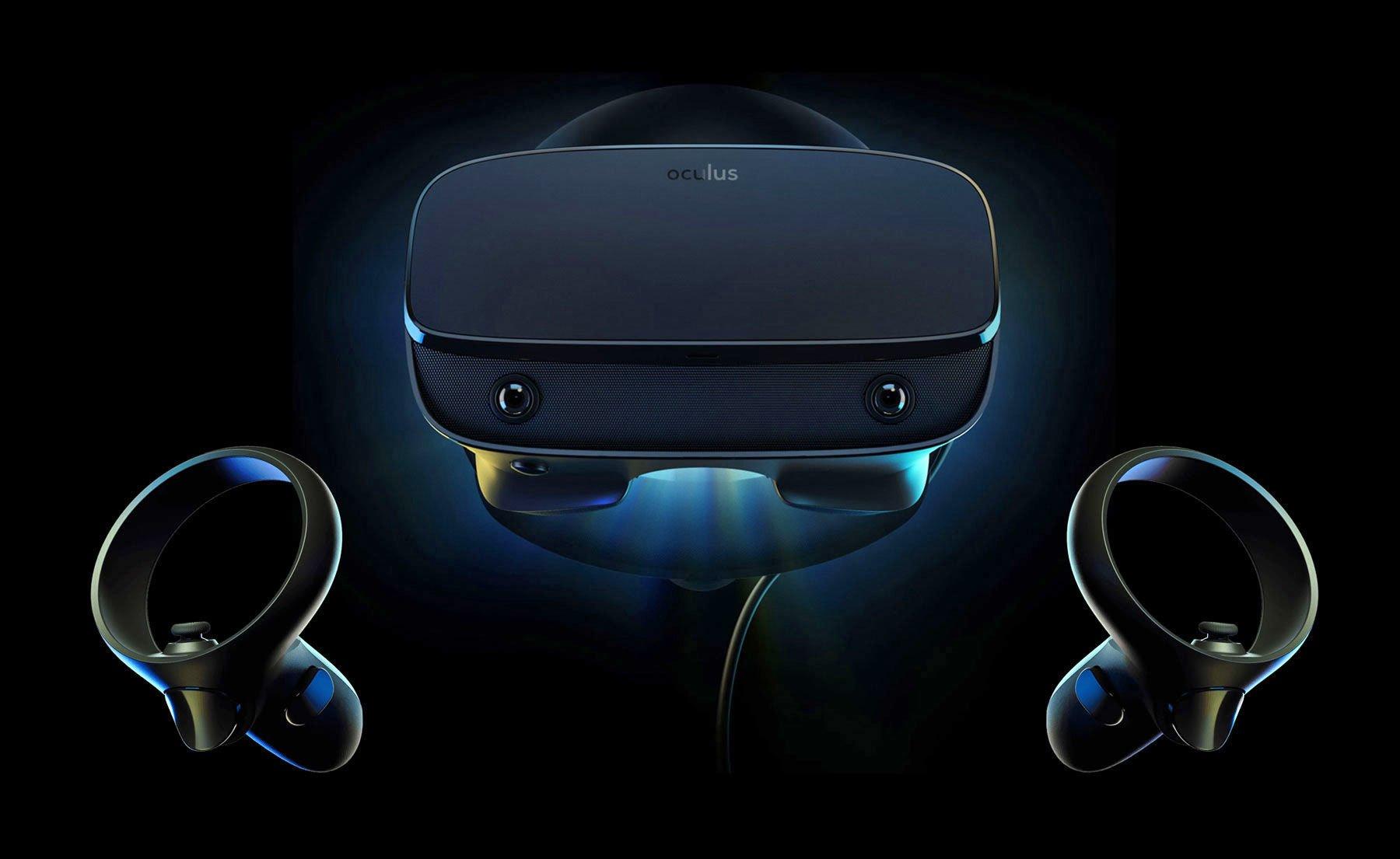Oculus Rift S PC VR HMD hands-on impressions at GDC 2019 ...