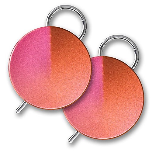 Orion Labs Onyx Smart Walkie Talkies w/ Unlimited Range - Iridescent Rose (Pair)