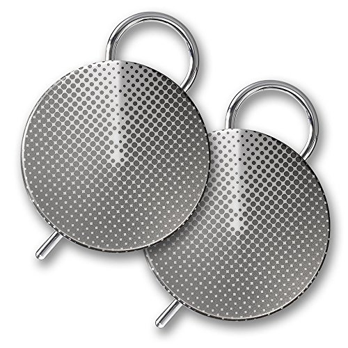 Orion Labs Onyx Smart Walkie Talkies w/ Unlimited Range - Silver (Pair)