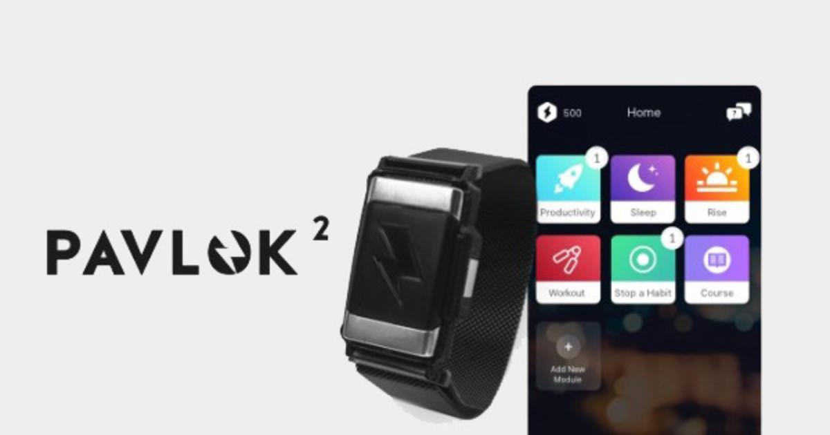 Pavlok 2 - Change Your Habits with Electric Shock | Indiegogo
