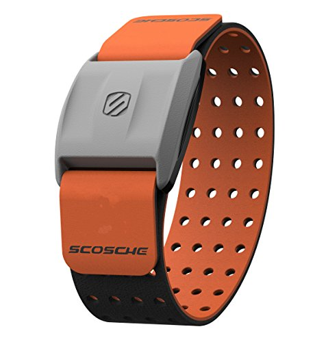 Scosche Rhythm+ Heart Rate Monitor Armband (Orange)