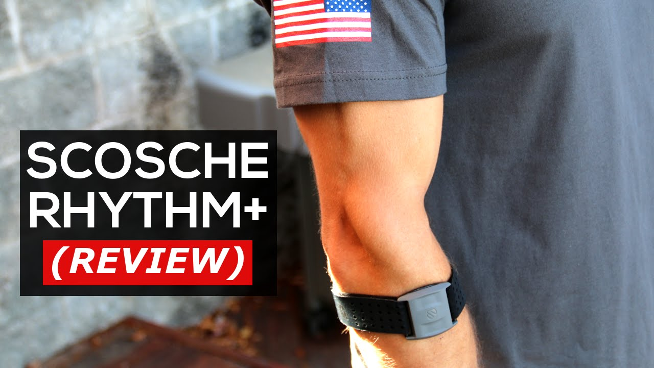 Scosche RHYTHM+ Heart Rate Monitor REVIEW - YouTube