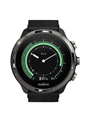 SUUNTO 9 GPS Sports Watch - Titanium Leather