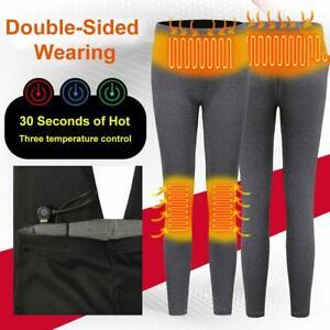USB Electric Heated Pants Warm Heating Base Layer Slim ...