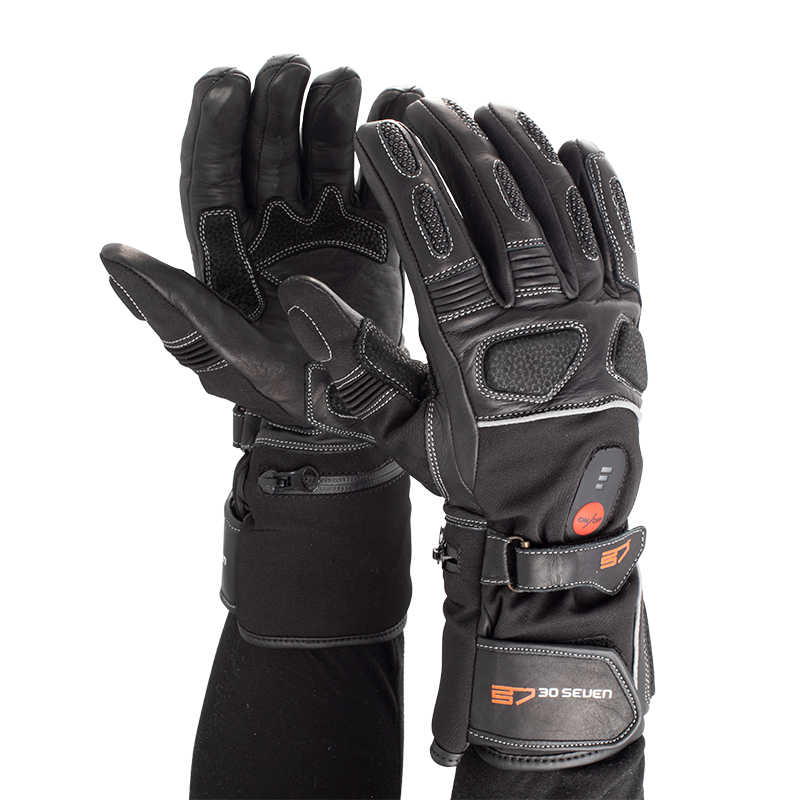 30Seven Heated Motorbike Gloves - Think Sport