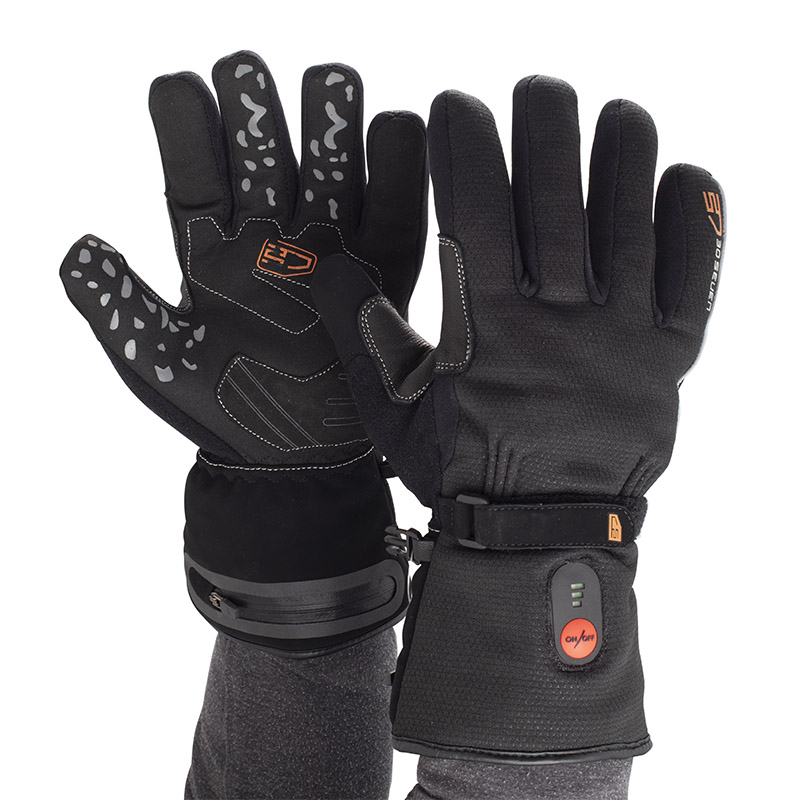 30Seven Heated Waterproof Cycling Gloves - Think Sport