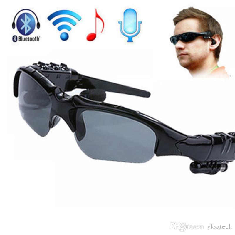 Acheter Smart Lunettes Bluetooth V4.1 Sunglass Sun Verre ...