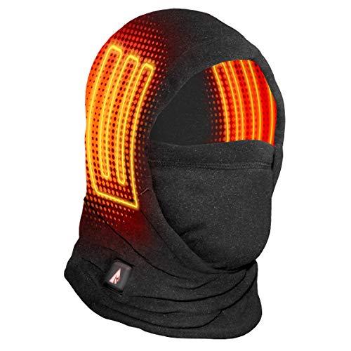 ActionHeat 5V Battery Heated Fleece Balaclava Face Mask, Winter Neck Gaiter