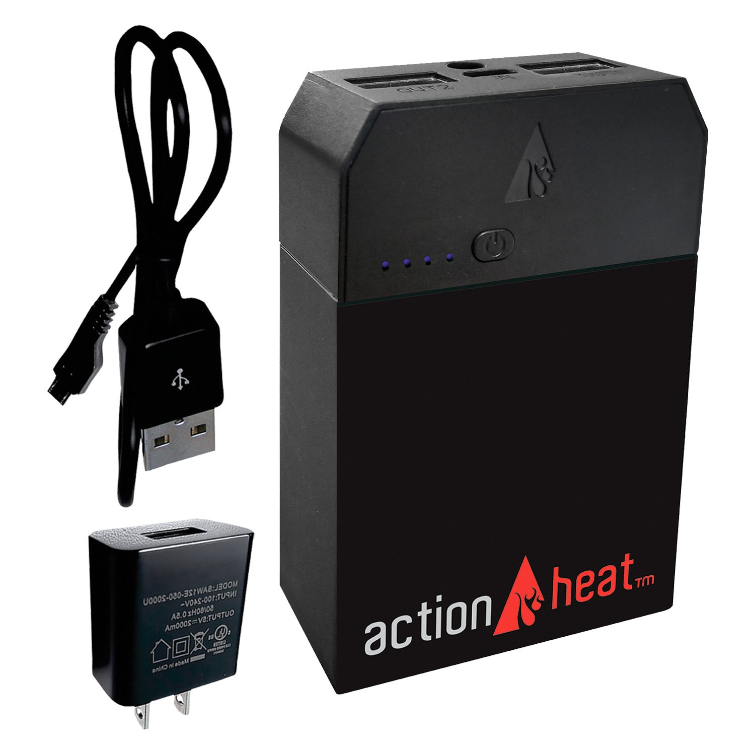 ActionHeat® AH-ZTOP-5V-M-G-L - 5V Battery Heated 1/2 Zip ...