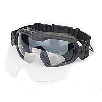 Airsoft Glass Regulator Ski Goggles with Fan