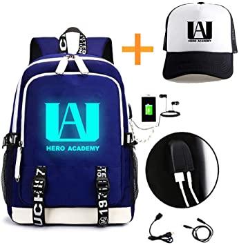 My Hero Academia College Bag blue