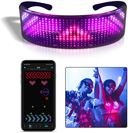 Full Color LED Smart Glasses