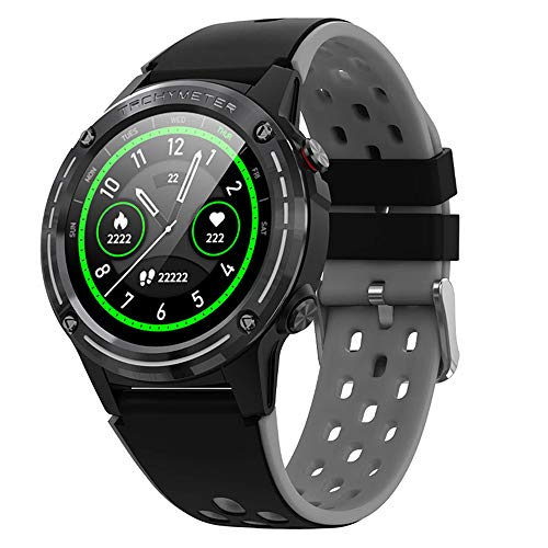 Anmino ASM6C GPS Smart Watch - BLACK/GRAY