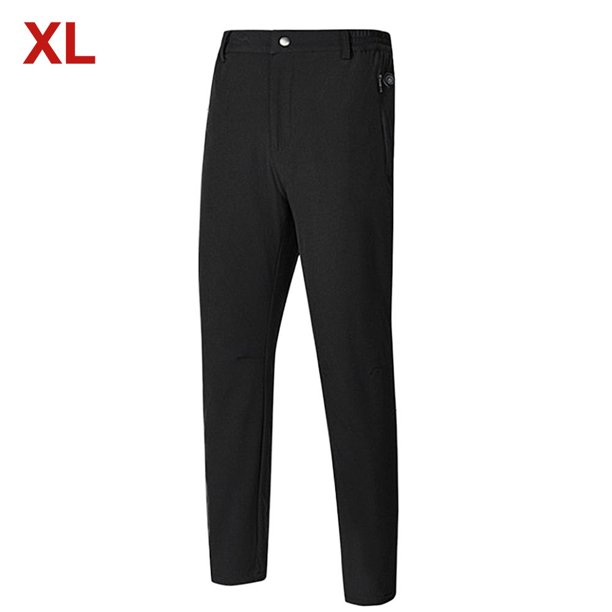 AUTCARIBLE Insulated Heating Pants Washable USB Electric Heated Thermal Pants for Men Winter Outdoor