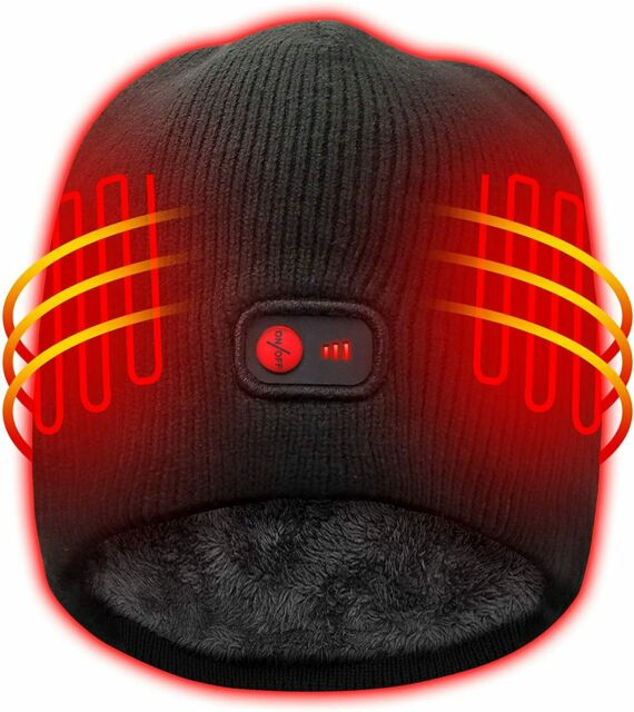 Autocastle Heated Hat with Rechargeable Battery,3 Heat ...