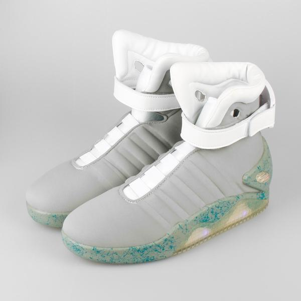Back To The Future 2 Light Up Shoes (BTTF2)   KIX-FILES
