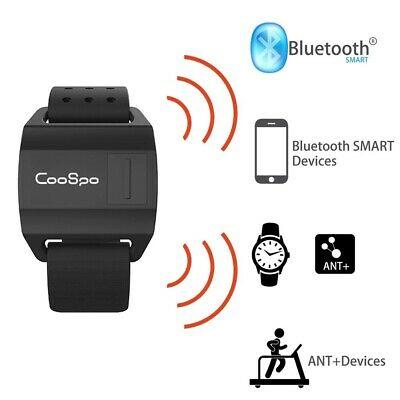 Bike Heart Rate Monitor Armband Optical Sensor Bluetooth ANT+ For Garmin Wahoo