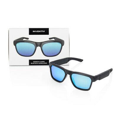 Blue Wireless Bluetooth Polarized Sunglasses, Open Ear Music, Hands-Free Calling