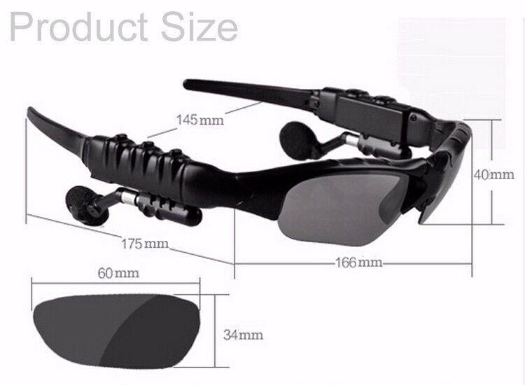 Bluetooth Sport Sunglasses Wireless Sun Glasses Headset ...