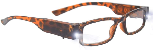 Bright LED Readers with Lights Reading Glasses Lighted ...
