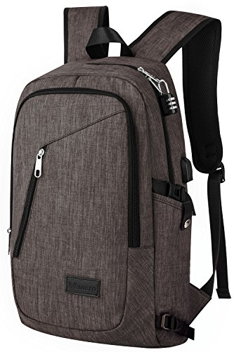 Business Laptop Backpack Mancro 15 15.6 Inch College ...
