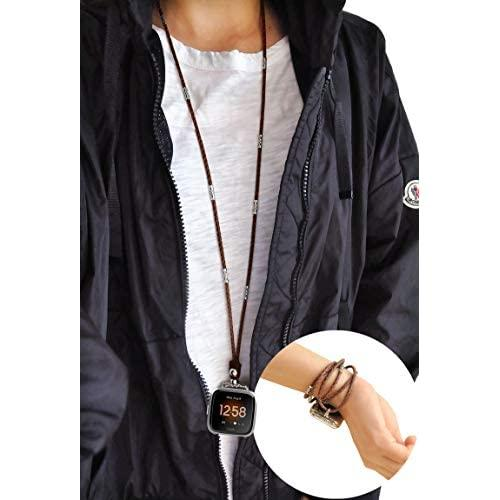 Buy Usee Tech Genuine Leather Necklace Compatible With ...
