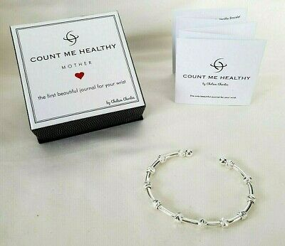 Chelsea Charles 'Count Me Healthy' Mother Wellness Journal Cuff Bracelet
