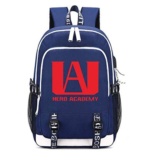 CHENMEILI My Hero Academia College Bag - Blue 2
