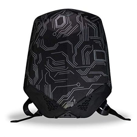 Hard-Shell Backpack with Built-In Speaker 2