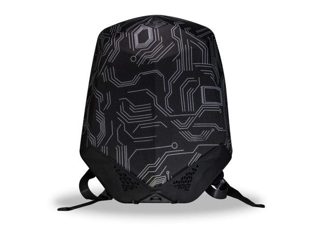 Clearon Electric Bluetooth Backpack Speaker | Portable Charger, EDR Speaker, Nylon EVA Hard-Shell Waterproof Material & Modern Swag Design (Circuit)