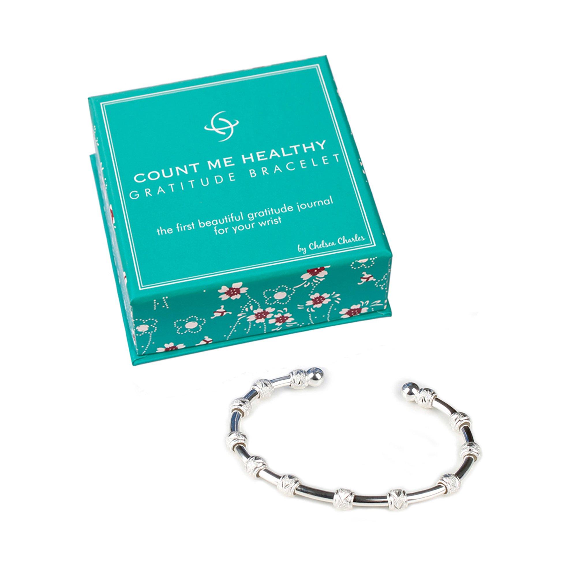 Count Me Healthy Gratitude Journal Bracelet by Chelsea ...